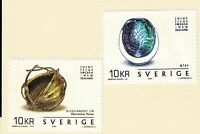 SWEDEN - 2002 JOINT WITH NEW ZEALAND - Sc#2440a/b - MNH - E 2072