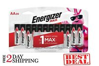Energizer AA Batteries (20 Count), Double A Premium Max Alkaline Battery