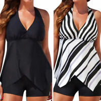 Women Tankini Sets with Boy Shorts Ladies Swimming Costumes Two Piece Swimsuits