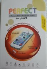 High Quality Tempered Glass Screen Protector for Apple iPhone 4 4S Flat Edge