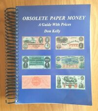 Paper Money Book OBSOLETE PAPER MONEY  A GUIDE WITH PRICES  used