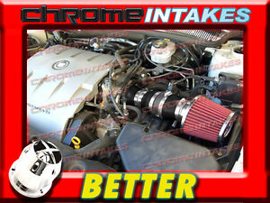 CF BLACK RED 2004 2005 CADILLAC DEVILLE ALL MODELS WITH 4.6L V8 AIR INTAKE KIT