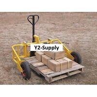 NEW! Vestil All Terrain Pallet Truck, Pallet Jack 2000 Lb. Capacity!!