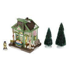 Dept 56 New England Nantucket Christmas Taffy Holiday Gift Set/4 Nib New!