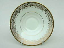 Royal Doulton Art Deco V1403 Pattern Tea Cup Saucers Only 14cm Dia in VGC