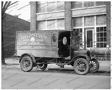 Vintage photo-Ford Cargo Bread Truck-8x10 in.