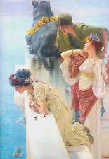 Ein Coign der Vantage von Tadema Choose 100% Leinen Giclee Aufdruck/Fine Art
