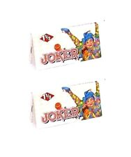 JOKER 1 1/2 (1.5) Rolling Papers 12 Booklets
