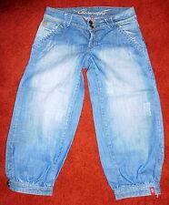 Trend Edc Esprit Gr.36 XS Bermuda Comfort Capri Shorts 7/8 Jeans Hose Play Neuw