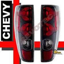 2004-2012 Chevy Colorado GMC Canyon LS LT WT Z71 Pickup Black Tail Lights