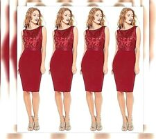 Womens Ladies Sequin Embellished Dress Wedding Guest Occasion Party 10 12 14 16