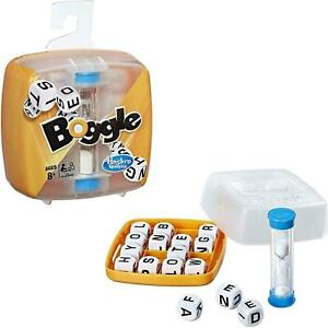 Boggle Classic Hasbro Gaming Traditional Word Letter Spelling Strategy Dice Game