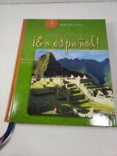 Pasaporte al mundo 21 !En Espanol! Teachers Edition 4 Cuatro 0618250662