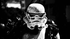 """Star Wars Storm Trooper on Patrol - 42"""" x 24"""" LARGE WALL POSTER PRINT NEW"""