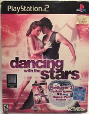 Dancing With the Stars Game & Dance Pad (Sony PlayStation 2, 2007) Complete!