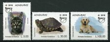 Honduras 2018 MNH UPAEP Domestic Animals Dogs Cats Turtles 3v Set Stamps