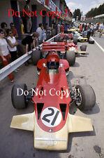 John Miles & Jochen Rindt Team Lotus Belgian Grand Prix 1970 Photograph