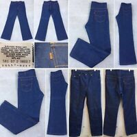 Vintage Levi's 517 Jeans Orange Tab Size 35 32 Measure 35 X 34 Made In USA