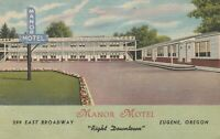 Eugene, OR - Manor Motel - Exterior and Grounds - Signage