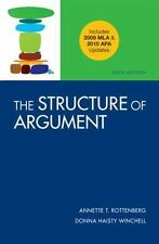 The Structure of Argument with 2009 MLA and 2010 APA Updates, Winchell, Donna Ha