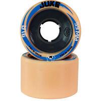 Atom Juke Nylon Roller Derby Skate Wheels Pack Of 8 New - 91A  - 59mm x 38mm