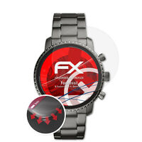 3x Curved Anti-Shock Pellicola protettiva Fossil Q Explorist HR 4. Generation