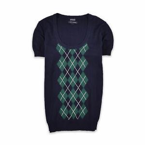 Tommy Hilfiger Damen Pullover Sweater Strick Gr.M (DE 38) Pima Navy Blau 102723