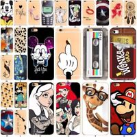 Cartoon Mouse Silicone Rubber Soft TPU Case Cover For iPhone 6 5S 5 SE 8 7 PLUS