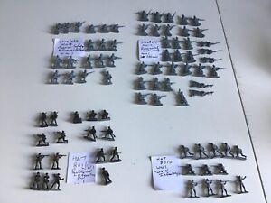 HaT & Strelets World War One Russian & Turkish unpainted 1/72 soldiers