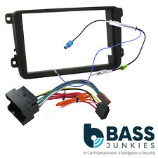 Skoda Fabia MK2 5J 07-14 DANCE Car Stereo Double Din Fascia Panel & Fitting Kit