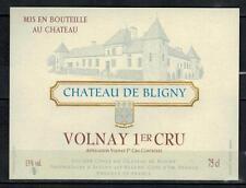 Etiquette de Vin - Chateau de Bligny - Volnay 1°cru - Réf.n°175