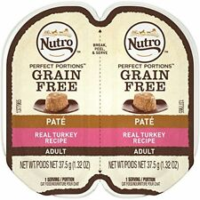 Nutro Adult Wet Cat Food Pate Loaf Turkey 24 Twinpks