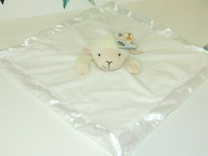 Kids of America Lamb Sheep Beige Plush Luxe Soft Lovey Baby Security Blanket NWT