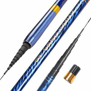 Fishing Telescopic Rods Ultralight Carbon Fiber Super Hard Casting Tackle Pole