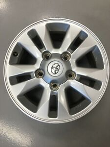 LandCruiser 200 Series GXL Toyota (Genuine) Alloy Wheel ONLY x 1 USED