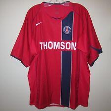 mint PSG Paris Saint-Germain 2004-05 Nike away shirt Thomson maillot jersey XXL
