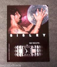 [GCG]  P513 - Advertising Pubblicità -2004- SISLEY , NIGHT TIME GLITTER