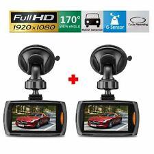 "2 x 2.7"" HD 1080P Car DVR Vehicle Camera Video Recorder Dash Cam Night Vision"