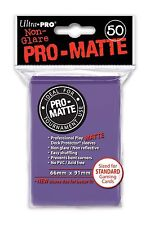 50 ULTRA PRO Pro-Matte Deck Protector Card Sleeves Magic Standard 84187 Purple
