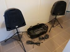 Ashton Traveller 150w Portable PA guitar