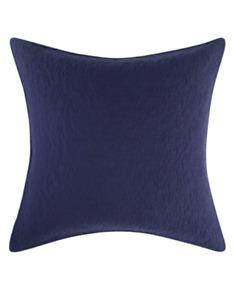 "NIP Poetic Wanderlust Odessa Euro Pillow Sham Case 26 x 26"" Deep Purple Blue"