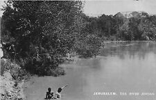 POSTCARD   ISRAEL   JERUSALEM   The  River  Jordon