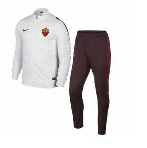 Nike AS Roma 15/16 Knit Woven Herren DriFit 688090-100 Trainingsanzug Trikot 2XL