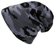 MFH Strickmütze BEANIE Tarn Feinstrick Camouflage Mütze Wintermütze Stoffmütze