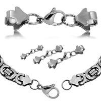 Karabiner Silbern Halskette Armband  DIY Kettenverschluss Karabinerverschluss