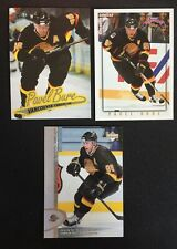 3 1996-97 Pavel Bure Vancouver Canucks Cards UD #347, Ultra #167 Topps Picks #15