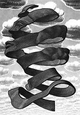 Escher # 05 cm 35x50 Poster Stampa Grafica Printing Digital Fine Art papiarte
