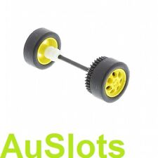 Scalextric W9958 Mini Cooper Rear Axle Assembly C3073 Fits C2881 to C3400 etc