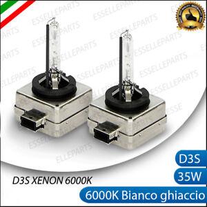 2 LAMPADE XENON D3S LUCE 6000K SPECIFICHE PER AUDI A3 8P SPORTBACK RESTYLING