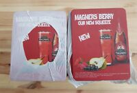 200 x Magners Berry Cider Carded drink  mats  New
